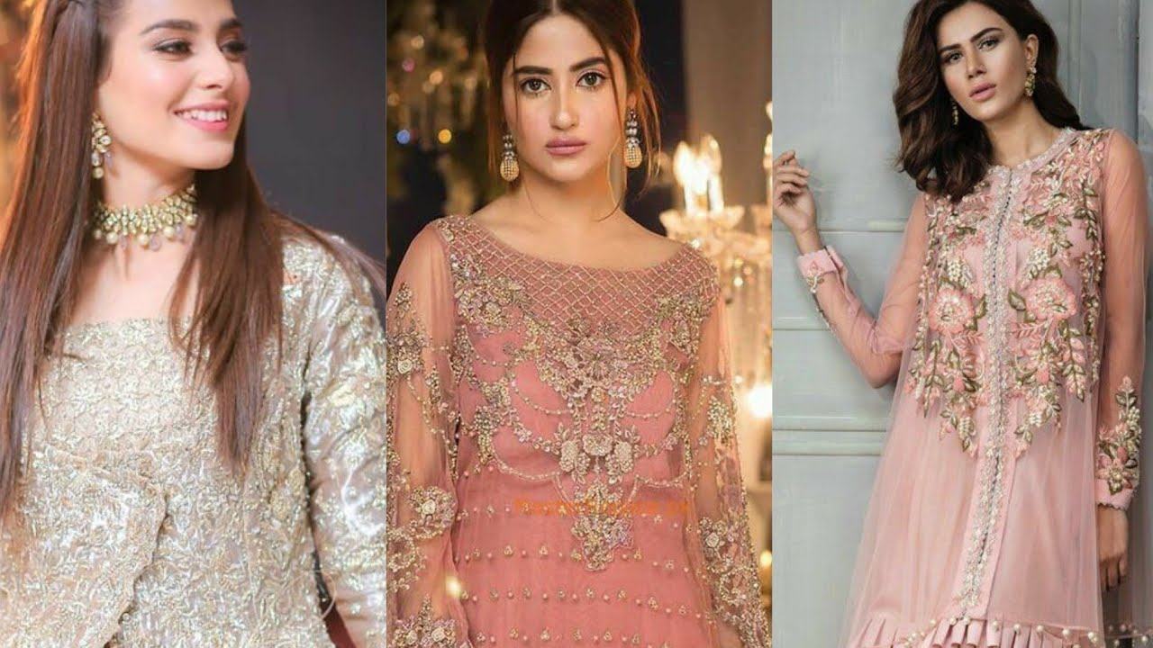 Trendy Formal Party Wear For Girls Fancy Pakistani Designers Dresses 2021 Youtube