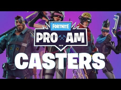 Fortnite Celebrity Pro-Am | #FortniteProAm | Ninja,Gotaga,Elrubius.. FR,UK,ES,DE,US..