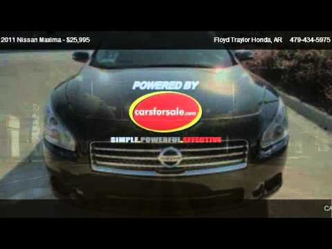 2011 Nissan Maxima SV   For Sale In Fort Smith, AR 72908