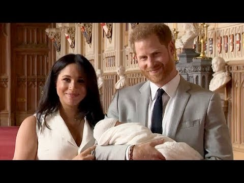 Meghan Markle and Prince Harry Debut Their Son & Reveal His Name