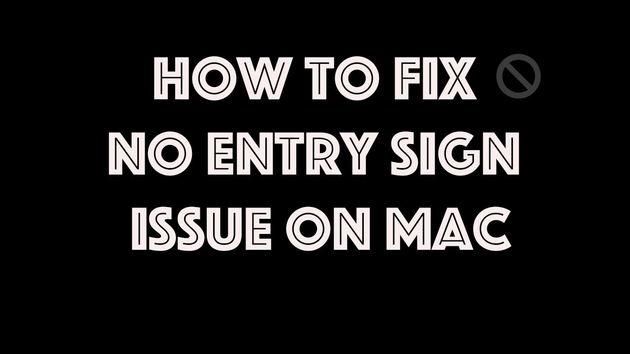 Live Troubleshooting No Entry Sign On Macbook Pro On Boot Youtube