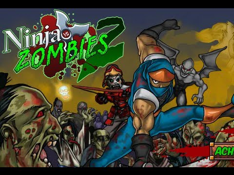 ninja vs zombies 2 game show youtube