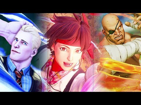 Street Fighter 5 AE Season 3 - All Outros