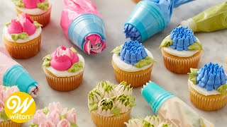 How to Make Buttercream Flowers with Easy Blooms Tip Set