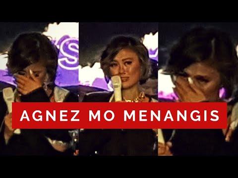 AGNEZ MO MENANGIS TERHARU DI KONSER CLEAR [FULL VIDEO]