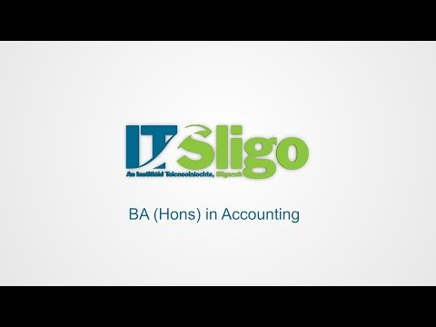 Accountancy SG146 - Institute of Technology Sligo