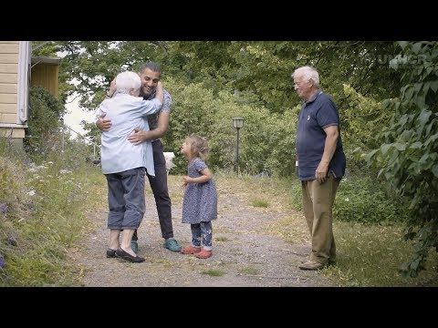 Finnish Grandma helps troubled toddler find peace