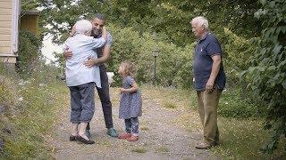 Finland: Refugee Girl Adopts Finnish Grandmother