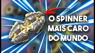 O FIDGET SPINNER MAIS CARO DO MUNDO!!!