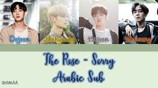 The Rose - Sorry [Color Coded] مترجمة Arabic Sub