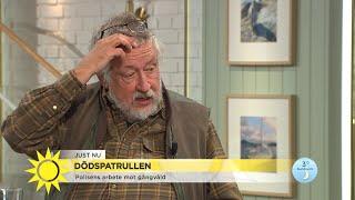 """Leif GW Persson om polisens arbete mot gängvåld: """"Ta dem på allt som tänkas ka… - Nyhetsmorgon (TV4)"""