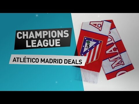Champions league Atlético Madrid // Get now great deals on exciting soccer merchandise!