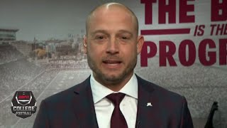 Minnesota coach P.J. Fleck reacts to Gophers' No. 8 CFP ranking | College Football on ESPN
