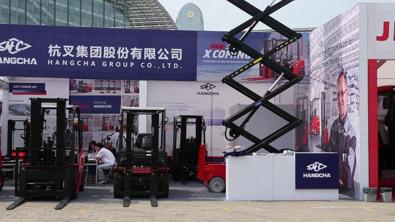 Hangcha at the 121st Canton Fair – Our Successful Trade Fair Performance