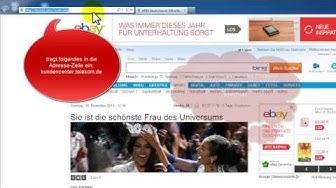 Telekom E-Mail Passwort vergessen / einrichten