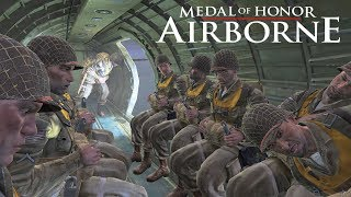 Medal of Honor Airborne Gameplay Walkthrough Part 1 - Operation Husky
