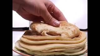 Легкий рецепт толстых блинов на сыворотке | Как приготовить блины на сыворотке