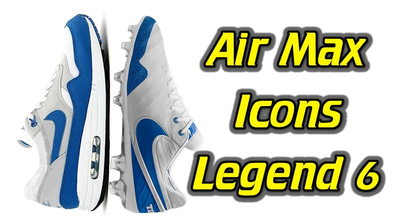 the best attitude 3c96c 742e6 Nike Tiempo Legend 6 (Air Max Icons Pack) - One Take Review + On Feet