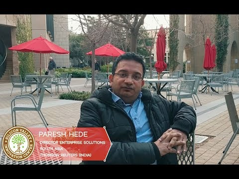 Paresh Hede, Director Enterprise Solutions, South Asia at Thomson Reuters, India