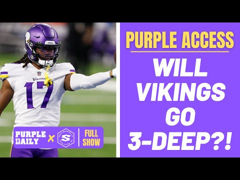 Will Minnesota Vikings really use three wide receiver more? - Purple Access!