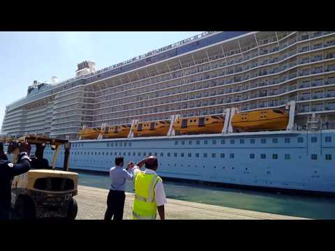 Ovation of the Seas sailing from Port Rashid