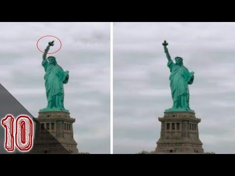 10 Misteriose Statue Riprese Muoversi A Video