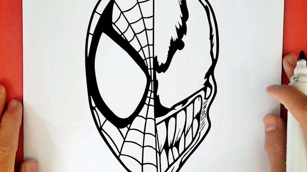 Como Dibujar A Spiderman Vs Venom