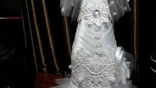 Бутылка своими руками. Невеста, часть 3.