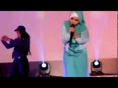 Fatin Shidqia Lubis Nyanyi Grenade Live Banjarmasin