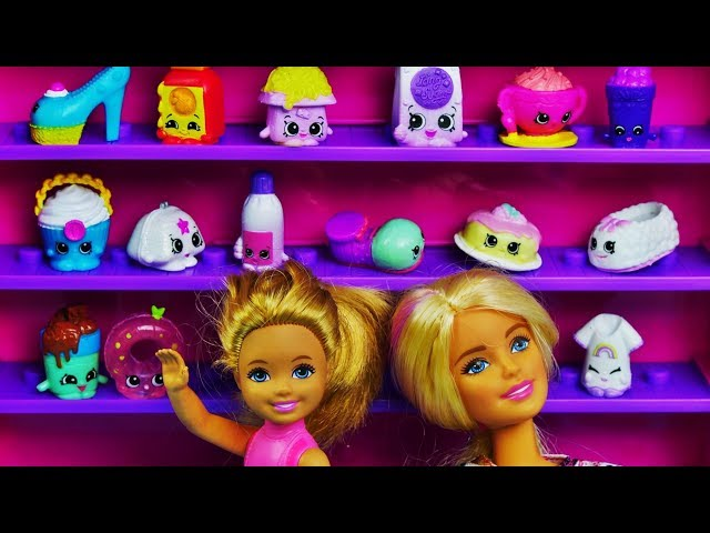 Barbie  • Prezenty dla Chelsea • Duża szafa na Shopkinsy • Bajki po polsku