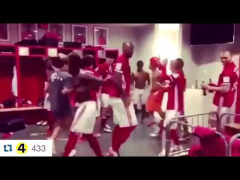 Bayern Munchen running man