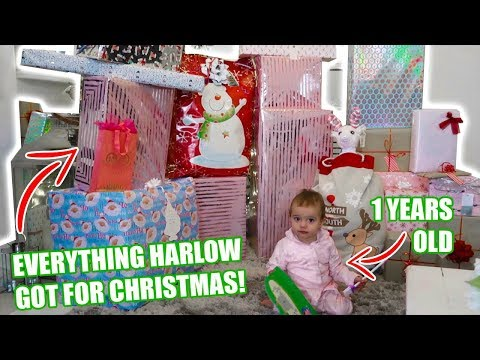 CHRISTMAS MORNING SPECIAL OPENING PRESENTS!!!! WHAT OUR BABY GOT FOR CHRISTMAS 2018!