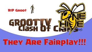 Onehive Are Fairplay I have proof!!! Clash On GrootTV