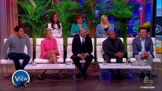 Whoopi Goldberg Pitches 'Baby Air' To Cast of 'Shark Tank' | The View