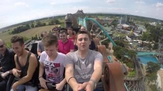 Rollercoasters Europa Park May 2015 ( GoPro Hero 4, 4K / 2K 60 fps )