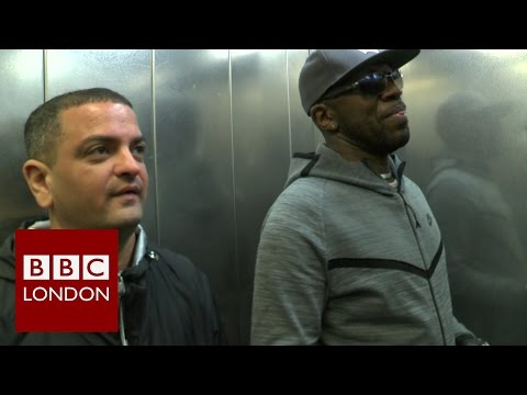 Garage music in London - DJ Luck and MC Neat