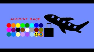 (24 Marble Race) EP.1: Airport Race