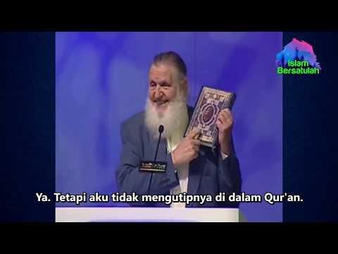 Bosan Dibohongi Gereja, Pendeta Ini Mencari Jawaban Sendiri Dan Masuk Islam 👍 Kagum Pintarnya