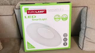 Обзор светодиодного светильника LED Smart Light EUROLAMP-26 watt