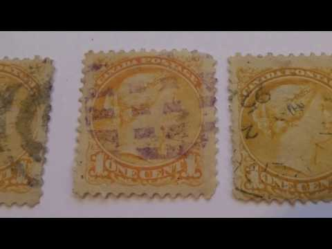 Mostly Rare Canada Postage Stamps