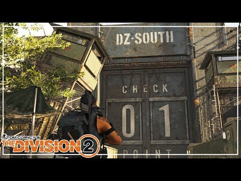 Discovering Dark Zone South - The Division 2