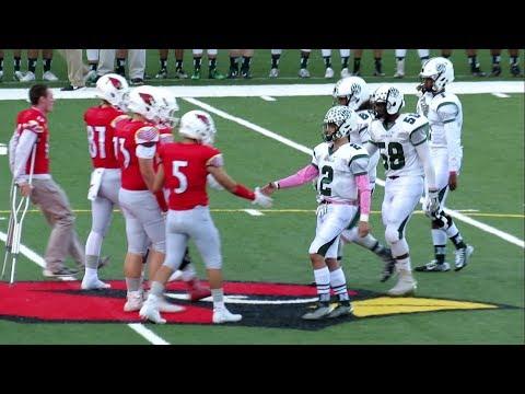 Norwalk vs Greenwich - High School Football Game - Video Highlights - October 02, 2017
