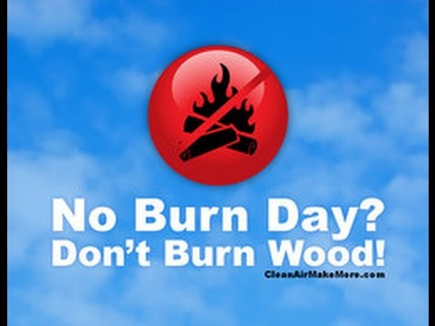 AGENDA 21: NO BURN DAY. IT IS ILLEGAL TO USE YOUR FIREPLACE TODAY IN SOUTHERN CALIFORNIA.
