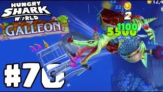NEW SECRET GALLEON LOCATION! - Hungry Shark World Gameplay Part 70