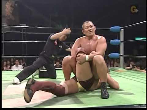 NOAH - Minoru Suzuki vs KENTA