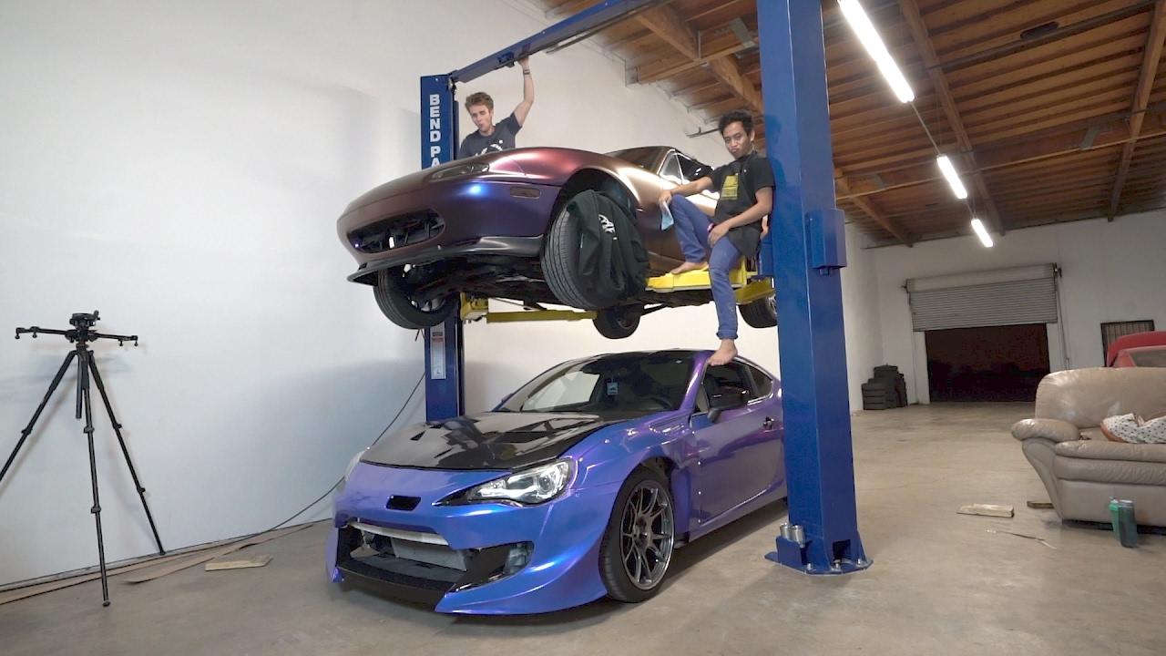 I BOUGHT A CAR LIFT!!!! - YouTube