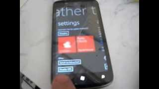 Windows Phone 7 8 software 7 10 8862 Weather Tile