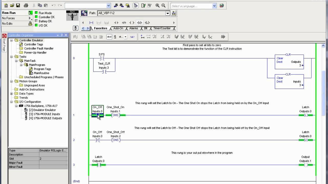 A Ladder Logic Diagram  Diagrams online