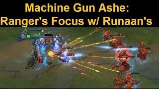 Machine Gun Ashe - 2.5 Attack Speed Runaan
