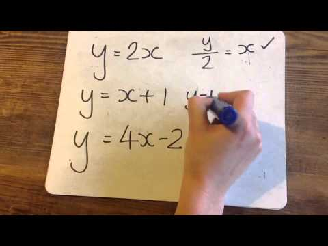 How To Change The Subject Of A Formula